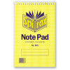 Spirax 563 Notebook Reporter 200x127mm Ruled 100 Page Top Opening