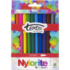 Texta Nylorite Colouring Marker Assorted Wallet Of 12