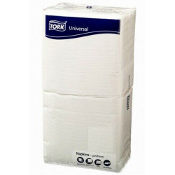 Tork Luncheon Napkins 1 Ply White 200 Sheets