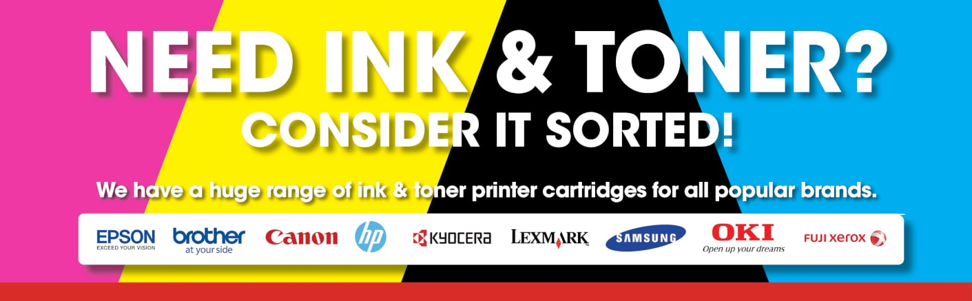 Need Ink and Toner